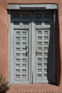 Santa Fe door Spanish Colonial